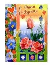 Картинка к книге Стезя - 1Т-012/День рождения/открытка-гигант вырубка