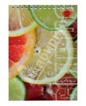 Картинка к книге TRILOGIKA - Блокнот А5 60л Цитрусовые