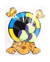 "Картинка к книге SafSof - Мишень-липучка ""Тигренок"" + 3 мяча (TGB-01 (Р))"
