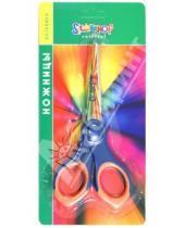 """Картинка к книге Ножницы - Ножницы """"Colorful"""" 155мм: прорезиненные кольца (453011)"""
