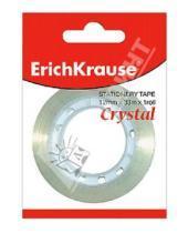 """Картинка к книге Erich Krause - Лента клейкая 12х33мм """"Crystal"""" прозрачная (222298)"""