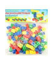 """Картинка к книге Развивающая игра - Развивающая игра-конструктор """"Разноцветные кубики"""" (6101)"""