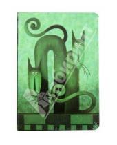 """Картинка к книге Modo Arte. Cats - Бизнес-блокнот """"Cats"""", Modo Arte А5- (6099)"""
