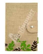 Картинка к книге Flower - Блокнот с хлопко-льняной обложкой А5 (070024)