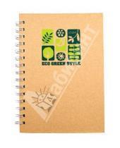 Картинка к книге Tree - Блокнот в клетку на спирали с крафт-обложкой, 80 листов, А5 (070059)