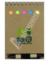 Картинка к книге Tree - Блокнот для заметок с ручкой и закладками, А6(070063)