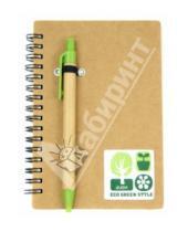 Картинка к книге Tree - Блокнот на спирали + ручка шариковая синяя (070200)