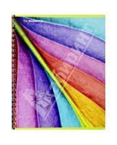 "Картинка к книге Silwerhof - Тетрадь в клетку, 80 листов ""Rainbow Nature"", на спирали, 4 вида (811463-85)"