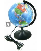 Картинка к книге TUKZAR - Глобус Земли политический с подсветкой (диаметр 210) (ГЗ-210пп)