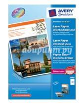 Картинка к книге Avery Zweckform - Бумага для лазерного принтера. Двусторонняя. 250 гр. 100 л.