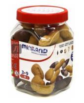 """Картинка к книге Miniland Educational - Игровой набор """"Орехи"""", 30 предметов, в контейнере (30689)"""