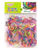 Картинка к книге TUKZAR - Набор цветных резиночек (двухцветные) (AN-75)