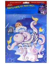 """Картинка к книге АппликА - Мозаика мерцающая самоклеящаяся """"Осьминожек"""", А5 (С2420-03)"""