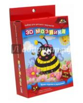 """Картинка к книге АппликА - Мозаика 3D """"Пчёлка"""" (С2245-03)"""