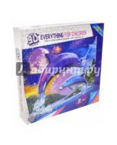 """Картинка к книге TUKZAR - Пазл бумажный объемный 3D """"Дельфины"""", 60х45 см (TZ12733)"""