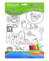 """Картинка к книге TUKZAR - Набор магнитов для раскрашивания """"Цирк"""" (TZ 11635)"""