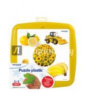 """Картинка к книге Miniland Educational - Обучающие пластиковые пазлы """"Цвета. Желтый"""" (35254)"""