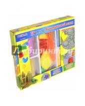Картинка к книге TUKZAR - Песок кинетический цветной с формочками, 4 пакета * 250 гр (TZ 3533)