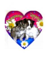 Картинка к книге Праздник - 61240/Лучшему другу/мини-открытка сердечко