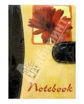 Картинка к книге Феникс+ - Notebook 2754 100 листов (кнопка, средний, красный цветок)