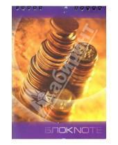 Картинка к книге КТС-про - Блокнот А5 48 листов (клетка) Золотые монеты (пружина) /С2859