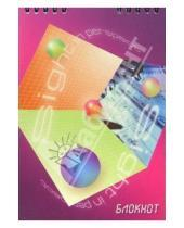 Картинка к книге КТС-про - Блокнот А5 48 листов (клетка) Пурпур (пружина) /С2861 3D