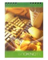 Картинка к книге КТС-про - Блокнот А5 48 листов, клетка, пружина. Клавиатура/С2860