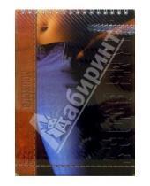 Картинка к книге КТС-про - Блокнот А5 60 листов клетка, пружина, пластиковая обложка. Джинс (С19309-12)