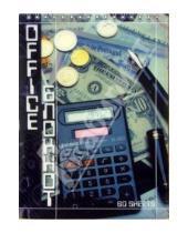 Картинка к книге КТС-про - Блокнот А5 60 листов клетка, пружина, пластиковая обложка. Офис (С19301-04)