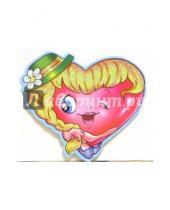 Картинка к книге Стезя - 7Т-036/мини-открытка сердечко