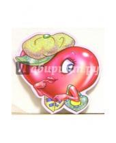 Картинка к книге Стезя - 7Т-021/мини-открытка сердечко