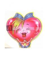Картинка к книге Стезя - 7Т-022/мини-открытка сердечко