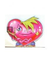 Картинка к книге Стезя - 7Т-026/мини-открытка сердечко