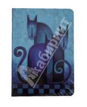 """Картинка к книге Modo Arte. Cats - Бизнес-блокнот """"Cats"""", Modo Arte А5- (6098)"""
