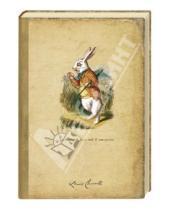 """Картинка к книге Коллекция Алиса №1 - Блокнот для записей """"Белый кролик"""""""