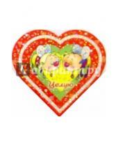 Картинка к книге Открыткин и К - 8Т-019/Целую/открытка-сердечко двойная
