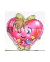 Картинка к книге Стезя - 7Т-033/мини-открытка сердечко