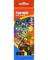 Картинка к книге Silwerhof - Фломастеры  6 цветов.Technics. Robot-Transformer (860611)