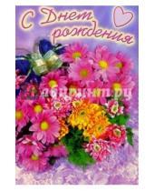Картинка к книге Стезя - 5-042/День рождения/открытка-вырубка двойная