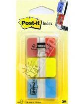 Картинка к книге POST-IT - Клейкие закладки  3 цвета  22 штуки  25.4х38 (686-RYB)