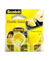 Картинка к книге POST-IT - Scotch Double Sided 136D-EEME 12mmх6.3m (двусторонний)