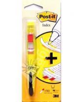 Картинка к книге POST-IT - Ручка-маркер желтая с закладками 689-HLY (в блистере)