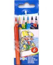 Картинка к книге Universal - Карандаши мини 6 цветов Carioca (41448)