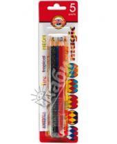 "Картинка к книге Цветные карандаши 6 цветов (4-8) - Карандаши 5 цветов ""Magic"" (3406)"