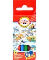 """Картинка к книге Цветные карандаши 6 цветов (4-8) - Карандаши 6 цветов """"Том и Джерри"""" (3621)"""