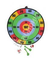 "Картинка к книге ZZ Toys Limited - Дартс ""В яблочко"" с дротиками и мячами (631550R)"