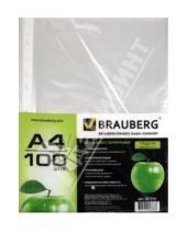 Картинка к книге Brauberg - Папка-файл с перфорацией, 100 шт. (221710)