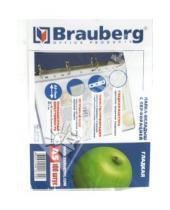 Картинка к книге Brauberg - Папка-вкладыш с перфорацией. 100 штук (221714)