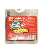 Картинка к книге Brauberg - Точилка механическая Bomber металлическая (222517)