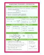 Картинка к книге Справочные материалы. Математика - Квадратные уравнения и неравенства. Справочные материалы